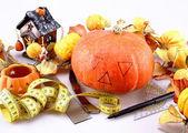 Preparing for Halloween — Stock Photo