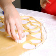 Baking cookies for Christmas. — Stock Photo