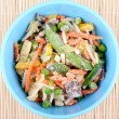 Frozen Asian vegetables — Foto de Stock