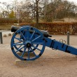Old cannon in St. Petersberg Citadel Barracks — Stock Photo