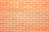 New red brick wall as background — Stock Photo