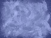 Menekşe buz resimde arka plan olarak — Stok fotoğraf