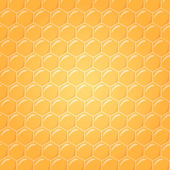 Honeycomb as vector background — Vettoriale Stock