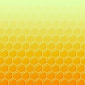 Honeycomb as illustration background, top light — Foto de Stock