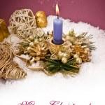 Christmas decoration isolated on white — Stock Photo #14104460