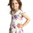 Beautiful little girl 5 years — Stock Photo #17599039