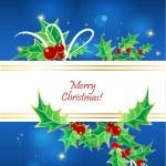 Christmas banner. — Stock Vector
