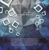 Abstraktní vzor geometrických tvarů — Stock vektor