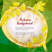 Abstract nature background — Stock Vector