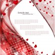 Valentines background — Vector de stock  #37121397