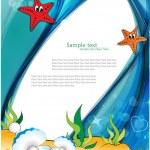 Under the Sea. — Stock Vector
