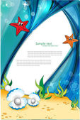 Under the Sea. — Stock Vector
