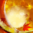 Stock Vector: Autumn vector background