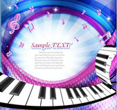 Music background. — Stock Vector