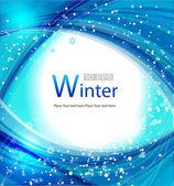 Winter banner. — Stock Vector