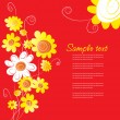 Flower background — Stock Vector #37541939