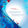Heart background — Vector de stock #37543667