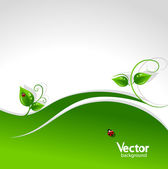 Abstract nature background. — Stock Vector