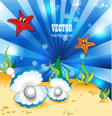 Under the Sea — Stock Vector