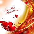 Valentines background — Stock Vector #37595209