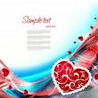 Valentines background — Stock Vector #37643469
