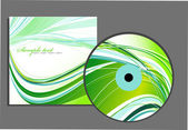 CD and cover — Stock Vector
