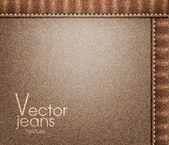 Vektorové džíny textura — Stock vektor