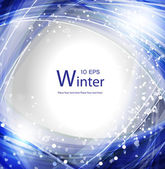 Winter banner. — Stock Vector