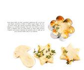 Cheese pastry dough — Stock Photo