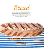 Bread on the table — Stock Photo