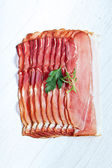 Parma ham — Stock Photo