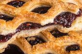 Delicious Tasty Pie with Jam — Stockfoto