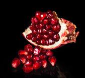 Punica Fruit closeup — Stock Photo
