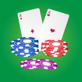 Casino element. — Stockvektor