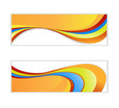 Abstract wave banner. — Stock Vector