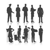 Set of people profession. — Stock Vector