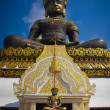 Big Buddha image named Phra Buddha Maha Thammaracha in Traiphum — Foto Stock