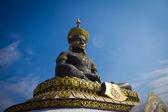 Big Buddha image named Phra Buddha Maha Thammaracha in Traiphum — Stock Photo