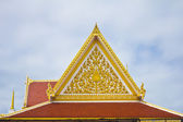 Roof of Thailand's temple — Stock Photo