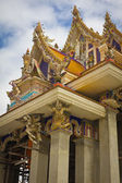 Unfinished Thai temple, Pariwart temple, Bangkok, Thailand — Stock Photo