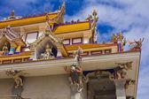 Fantasy statue at Pariwart temple — Stock Photo