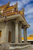 незавершенные тайский храм, храм pariwart, бангкок, таиланд — Стоковое фото