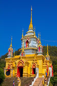 Temple at north of Thailand — Stock Photo