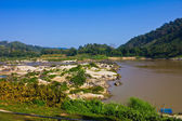 Coastline of Thailand and Mae Khong river. — Stock Photo
