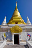 Golden stupa, Temple at Chiang Rai, Thailand — Stock Photo