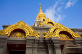 Golden stupa at Doi Mae Salong, Thailand. — Stock Photo