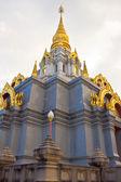 Golden stupa at Doi Mae Salong, Thailand. — Stock Photo