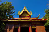 Beautiful temple at northern of Thailand. — Stock Photo