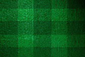 Football lined green grass — Stock Photo