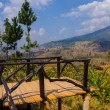Viewpoint on a high mountain in Thailand. — Stock Photo